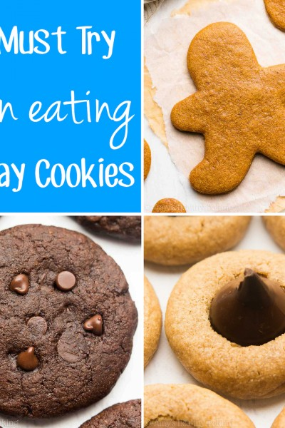 13 Must Try Clean Eating Holiday Cookie Recipes