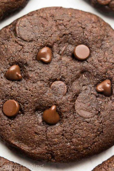 Fudgy Peppermint Mocha Cookies
