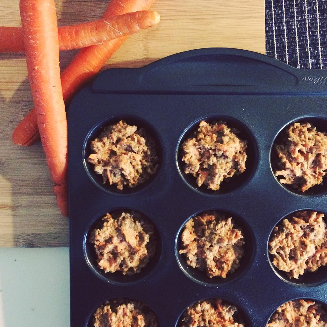 morning glory bran muffins by @train.eat.live08