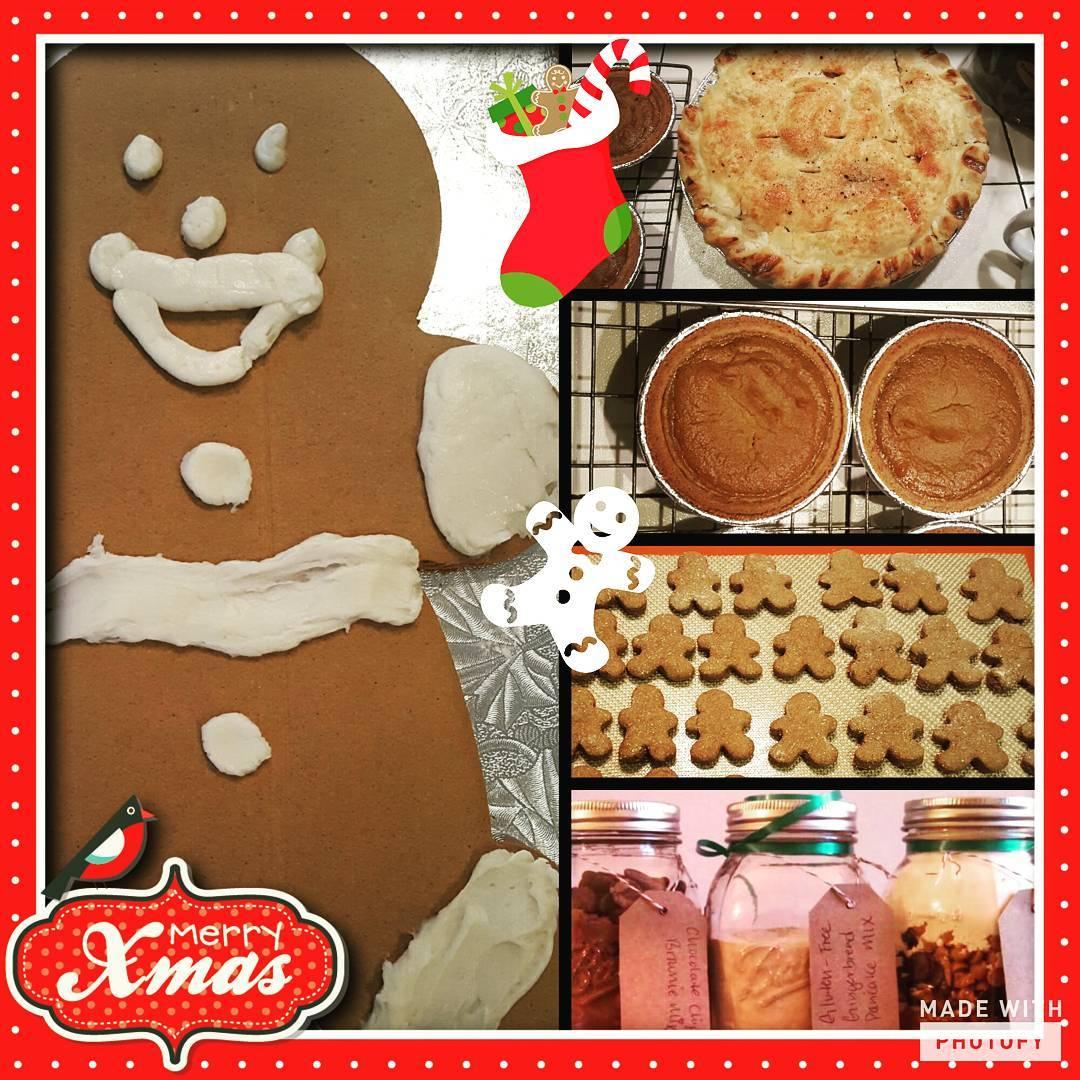 the ultimate healthy gingerbread cookies by @lisapakiela