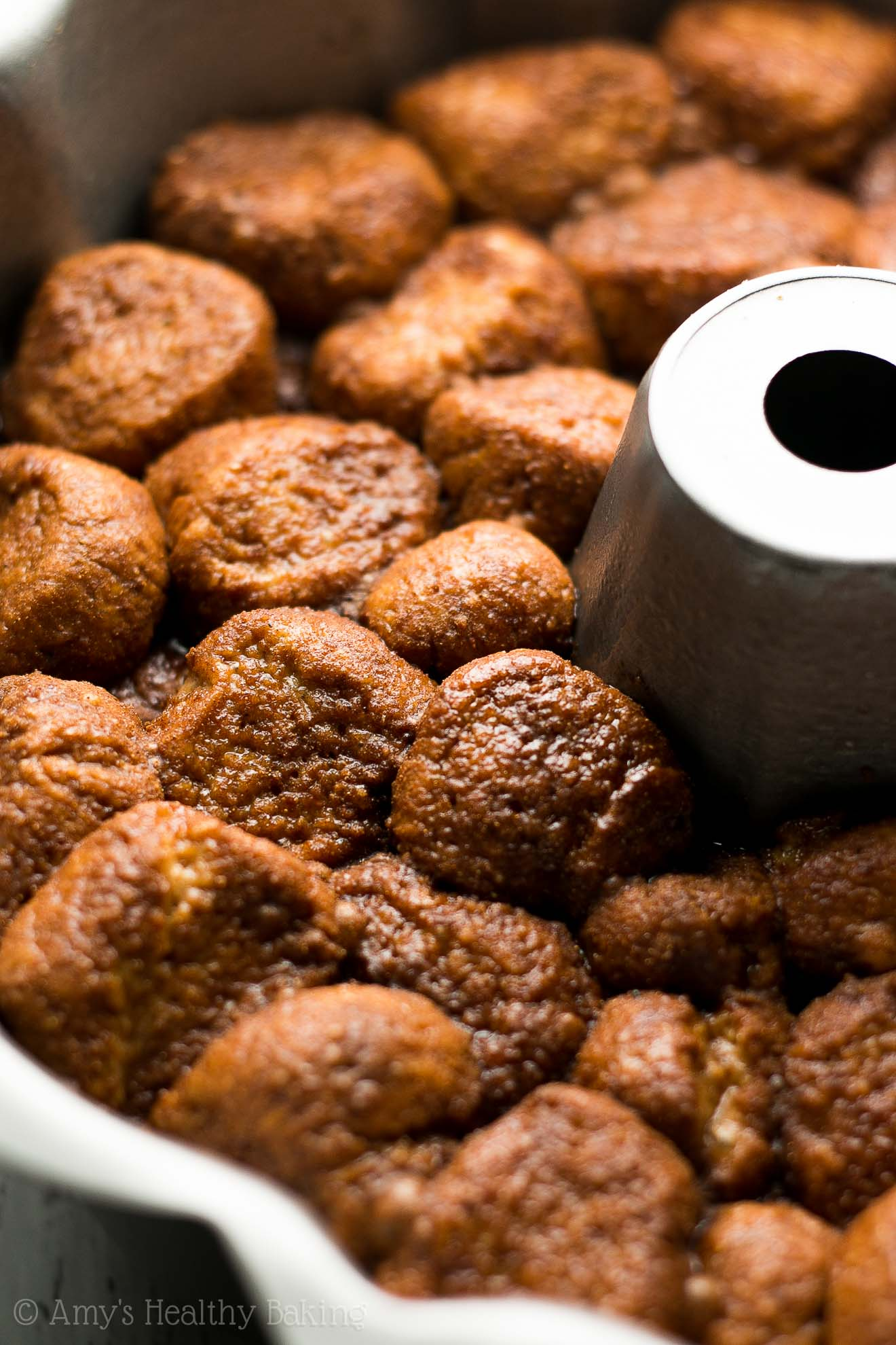 The Ultimate Healthy Monkey Bread -- SO good & only 120 calories!! You'll never use another recipe again!