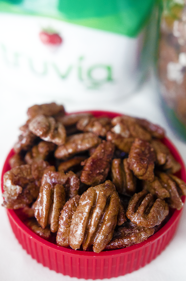 5-minute candied pecans by @housevegan