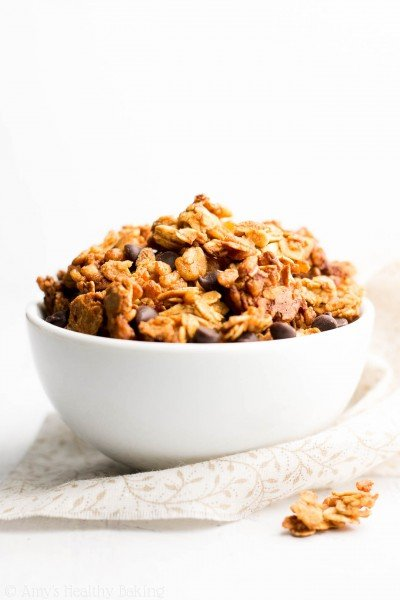AHB TV: Healthy Chocolate Chip Peanut Butter Granola