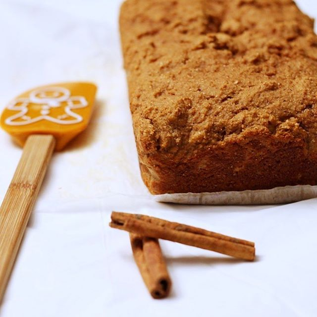 healthy classic gingerbread by @katiecakes.blog