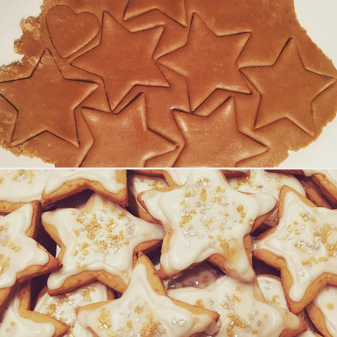 the ultimate healthy cut-out sugar cookies by @klahni19