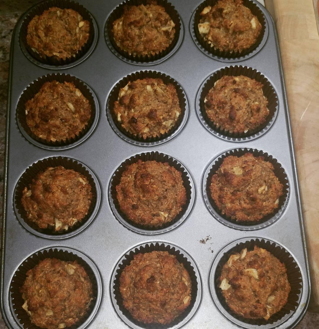 apple bran muffins by @h1ppychick48