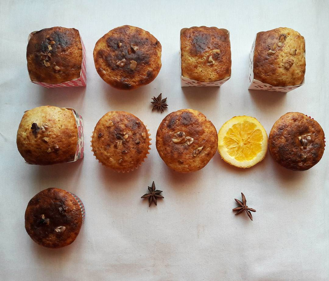 cranberry orange muffins {without the cranberries!} by @steelmagnolia6599