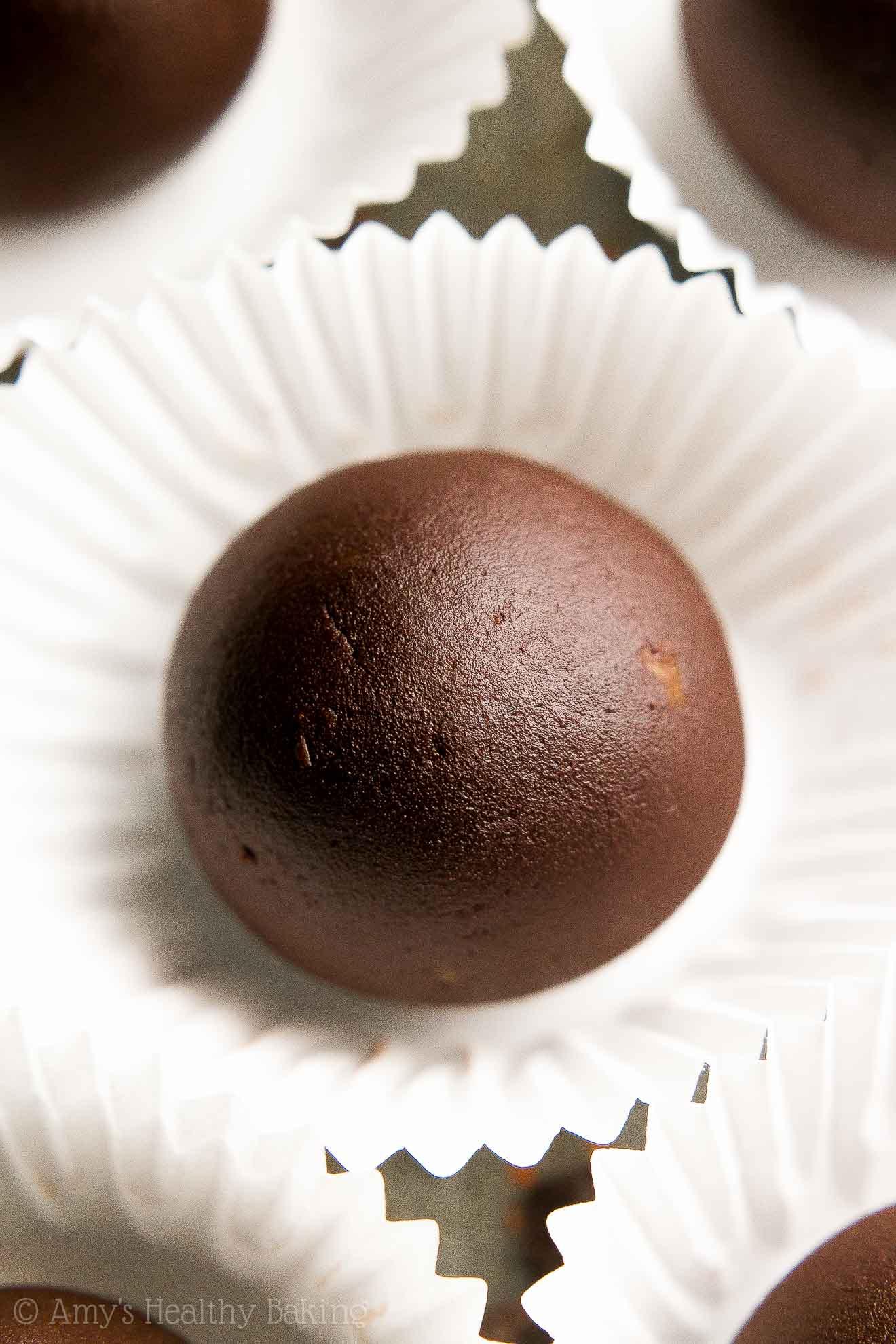 Healthy Dark Chocolate Orange Truffles | Amy's ...