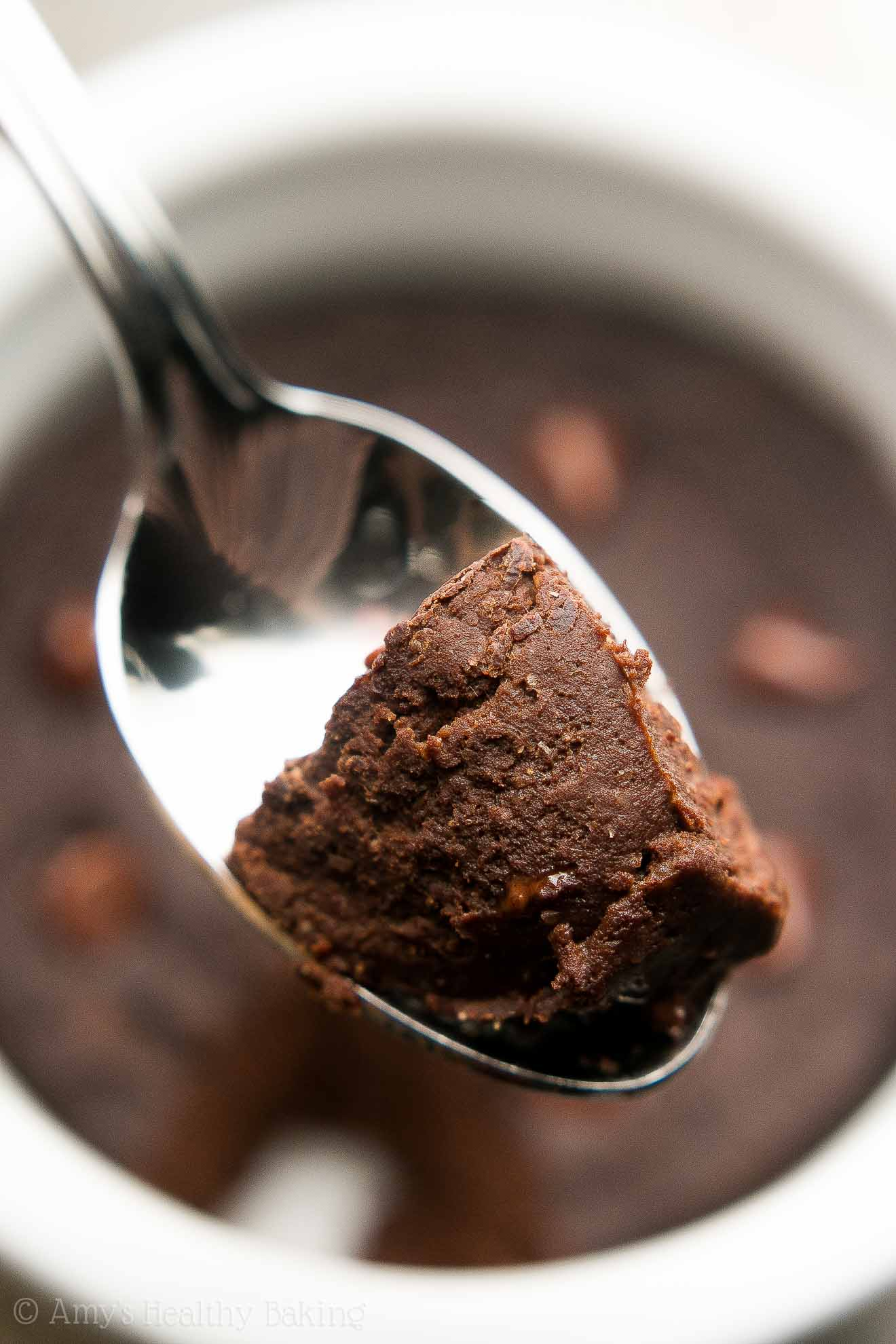 Healthy Single-Serving Mocha Chocolate Chip Mug Cake | Amy's ...