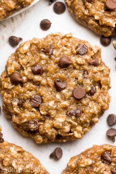 Chai Spice Chocolate Chip Oatmeal Cookies