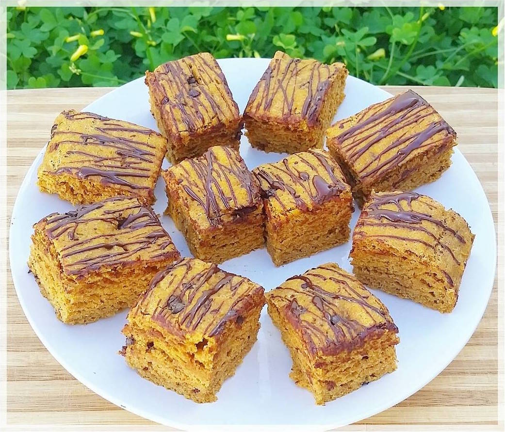 chocolate chip pumpkin bread by @trancenation30