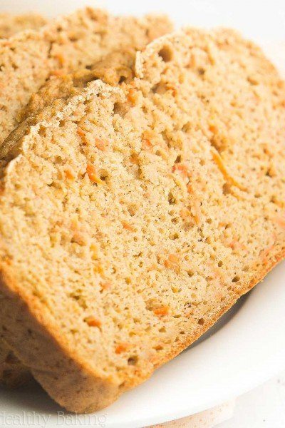 Greek Yogurt Carrot Cake Pound Cake