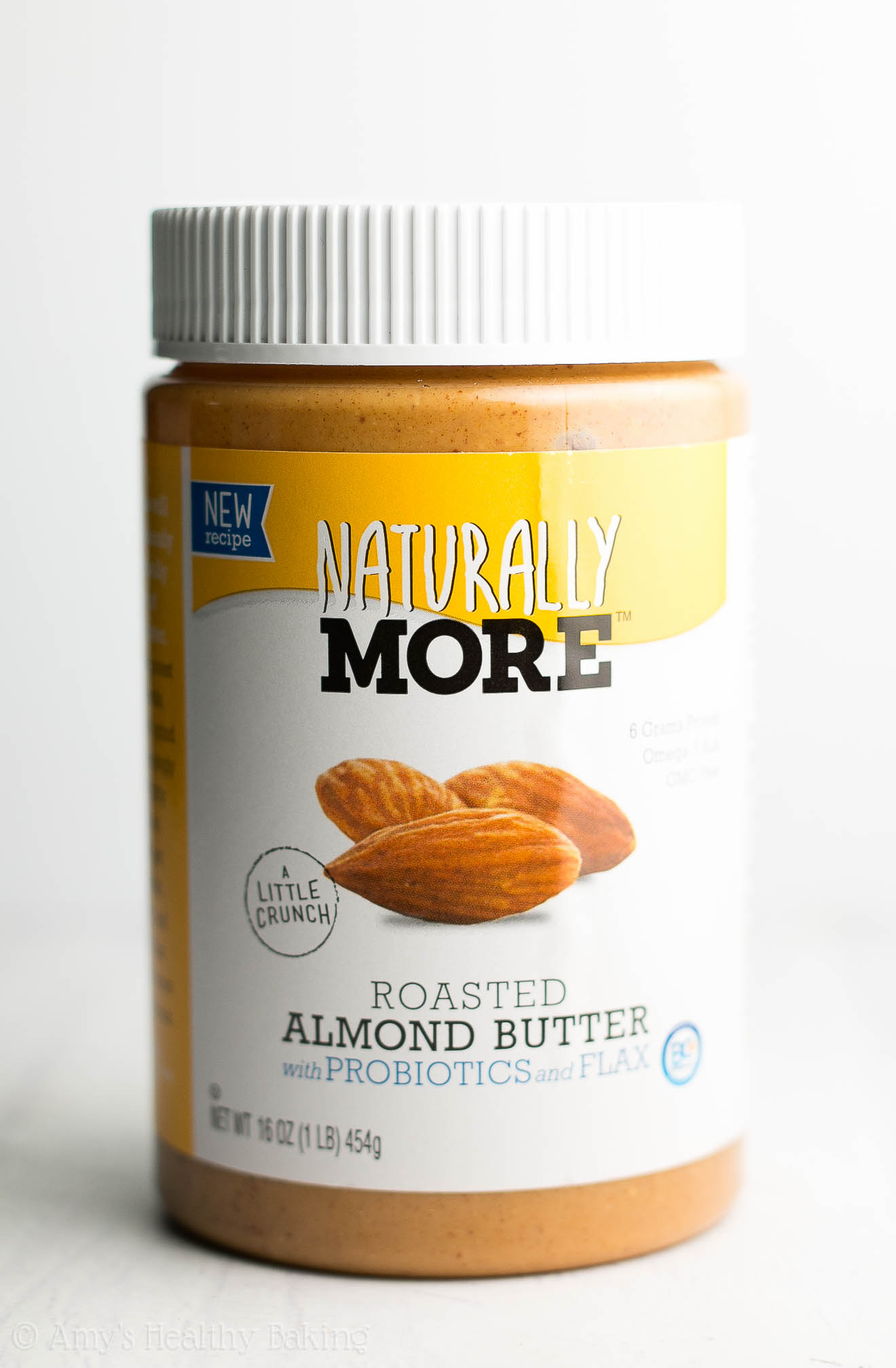 NaturallyMore's Roasted Almond Butter -- made with simple, good-for-you ingredients like California almonds, flaxseeds, and probiotics that promote good gut health. It tastes incredible too! ad