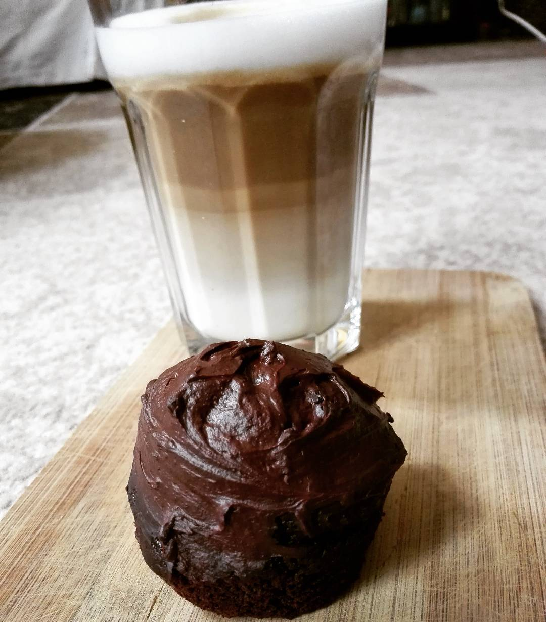 the ultimate healthy dark chocolate cupcakes by @stella_dez