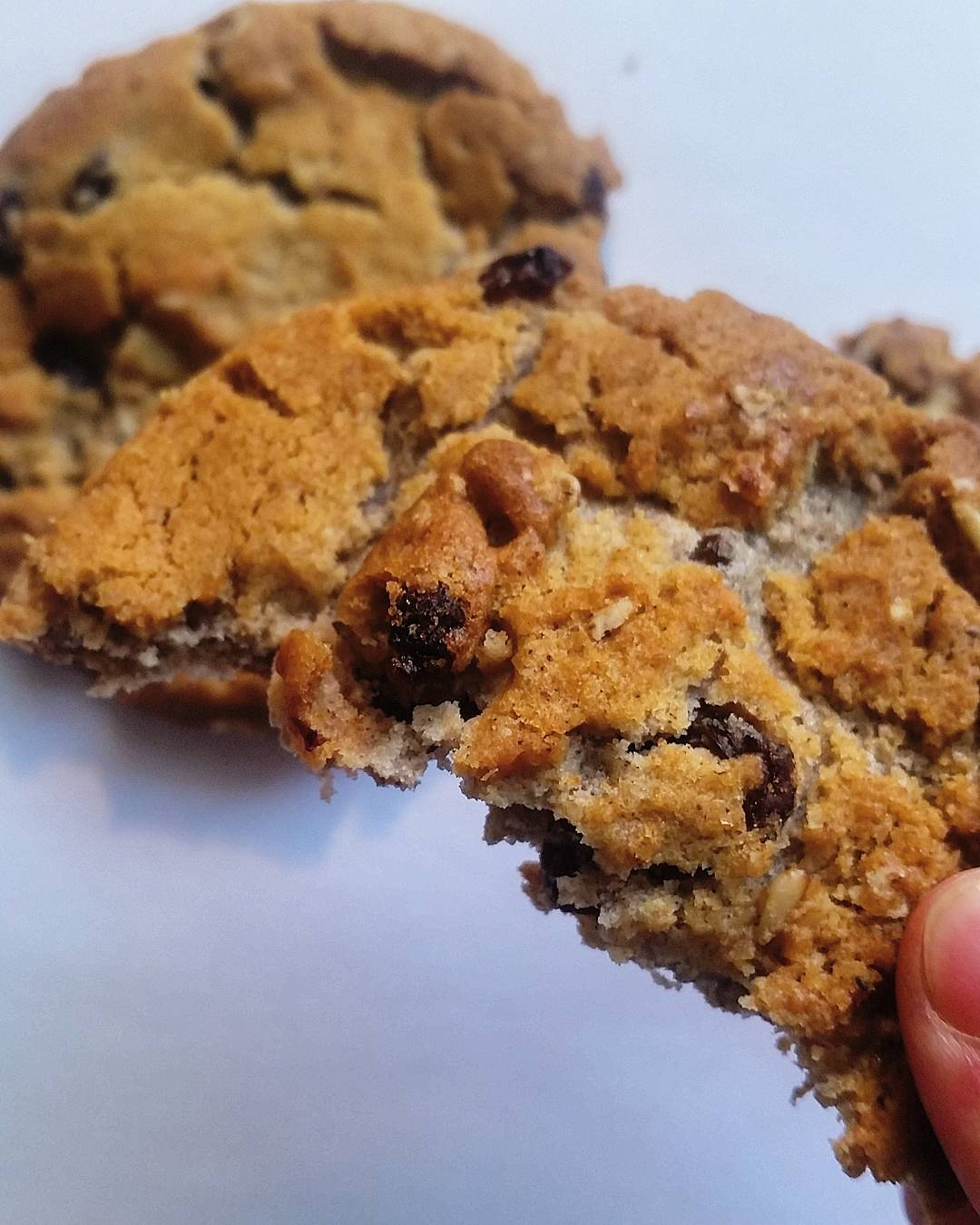 the ultimate healthy oatmeal raisin cookies by @health_hannah
