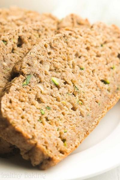 Healthy Zucchini Banana Bread