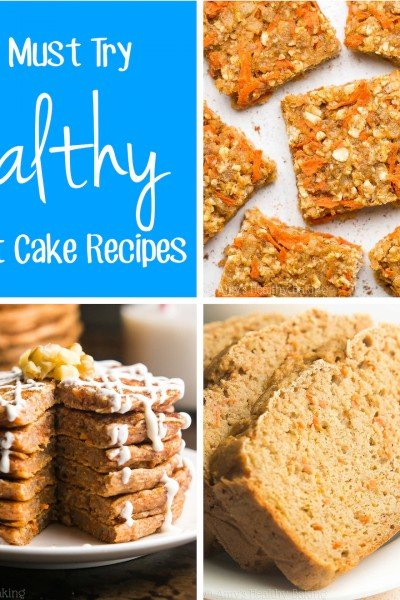 16 Must Try Healthy Carrot Cake Recipes