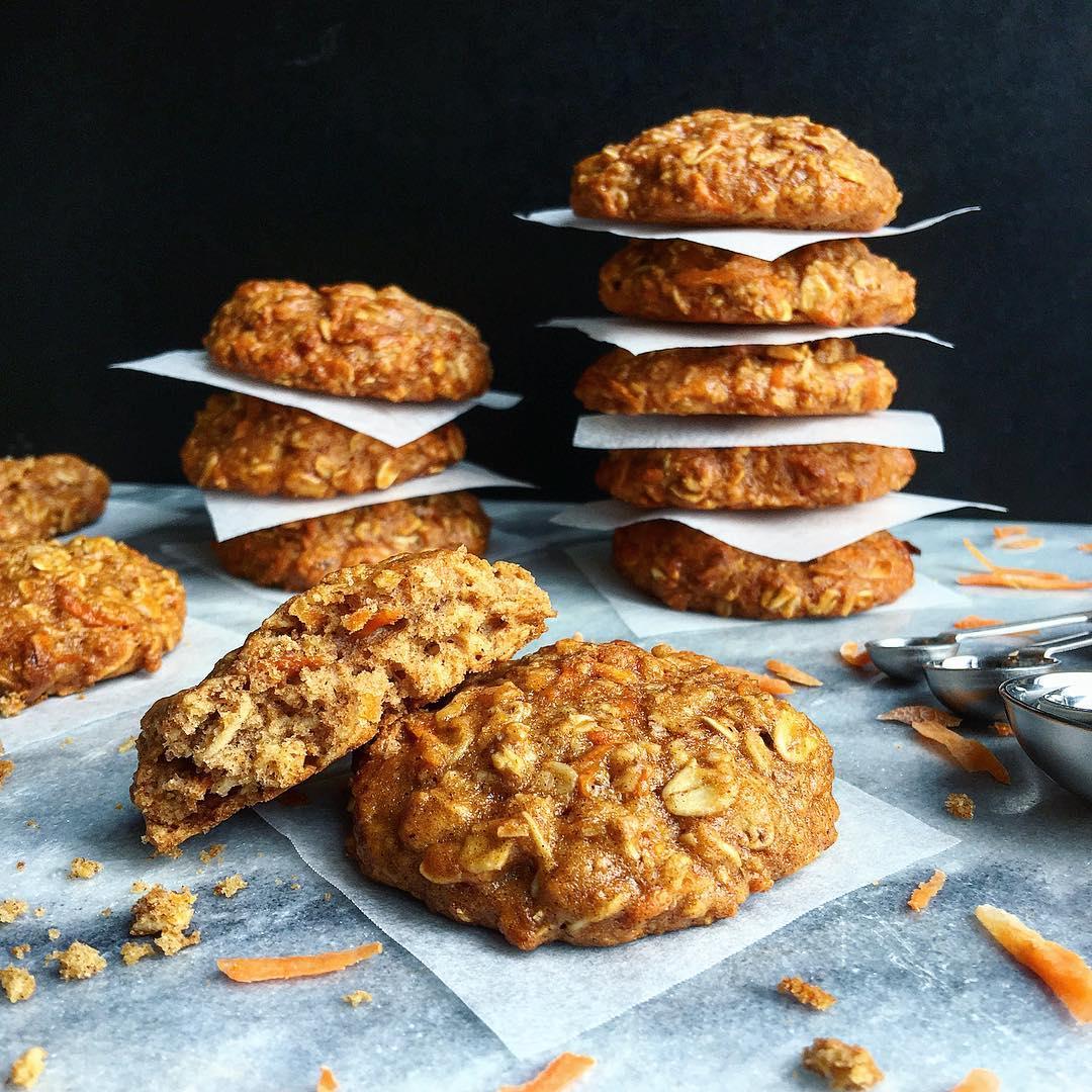 carrot cake oatmeal cookies by @nandita.ramlakhan