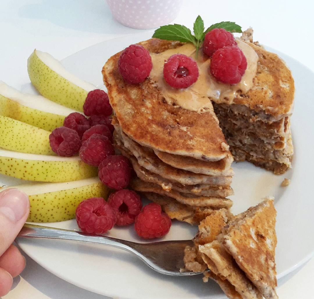 cinnamon apple pancakes by @claras_keksfabrik