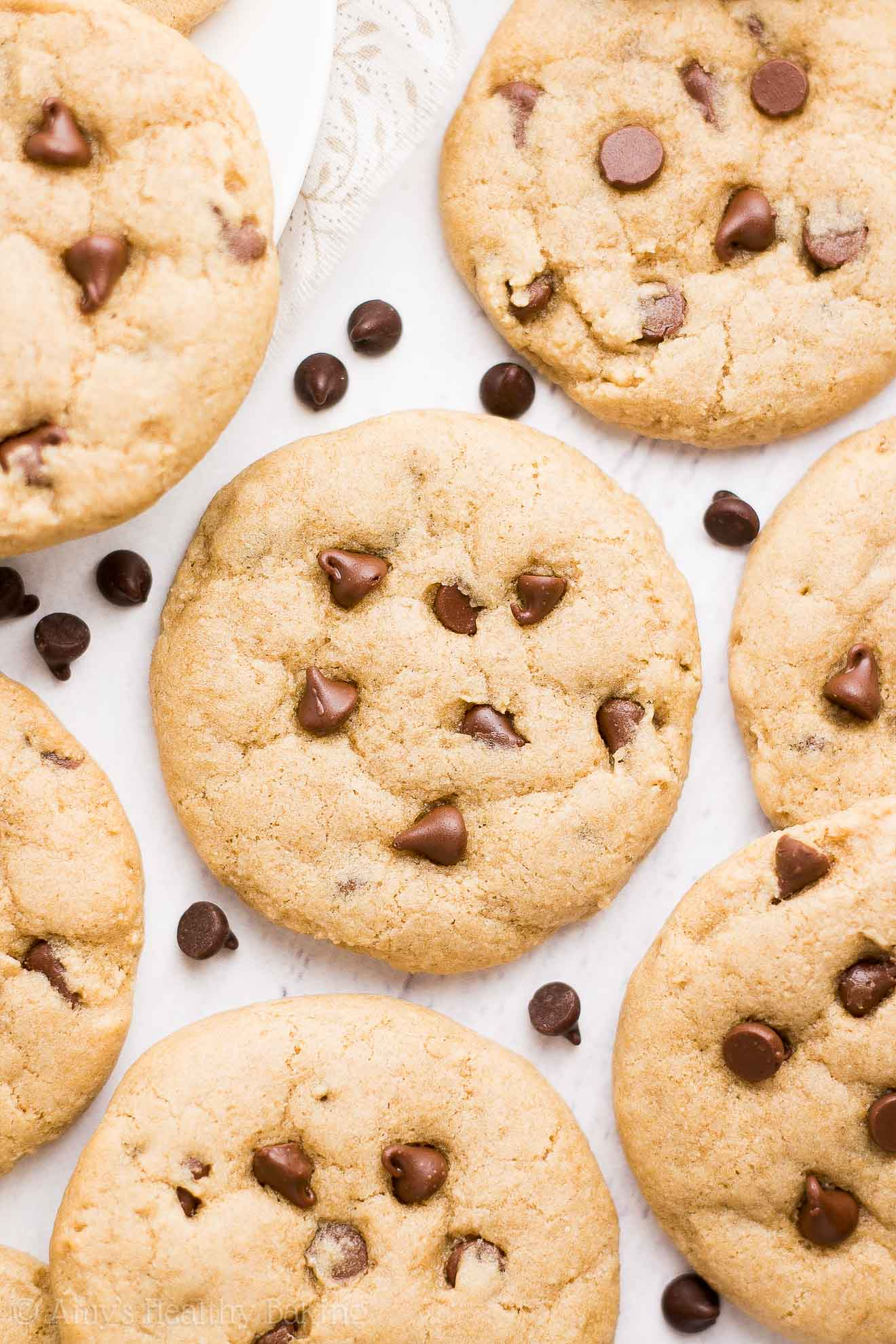 The Ultimate Healthy Soft & Chewy Egg-Free Chocolate Chip Cookies ...