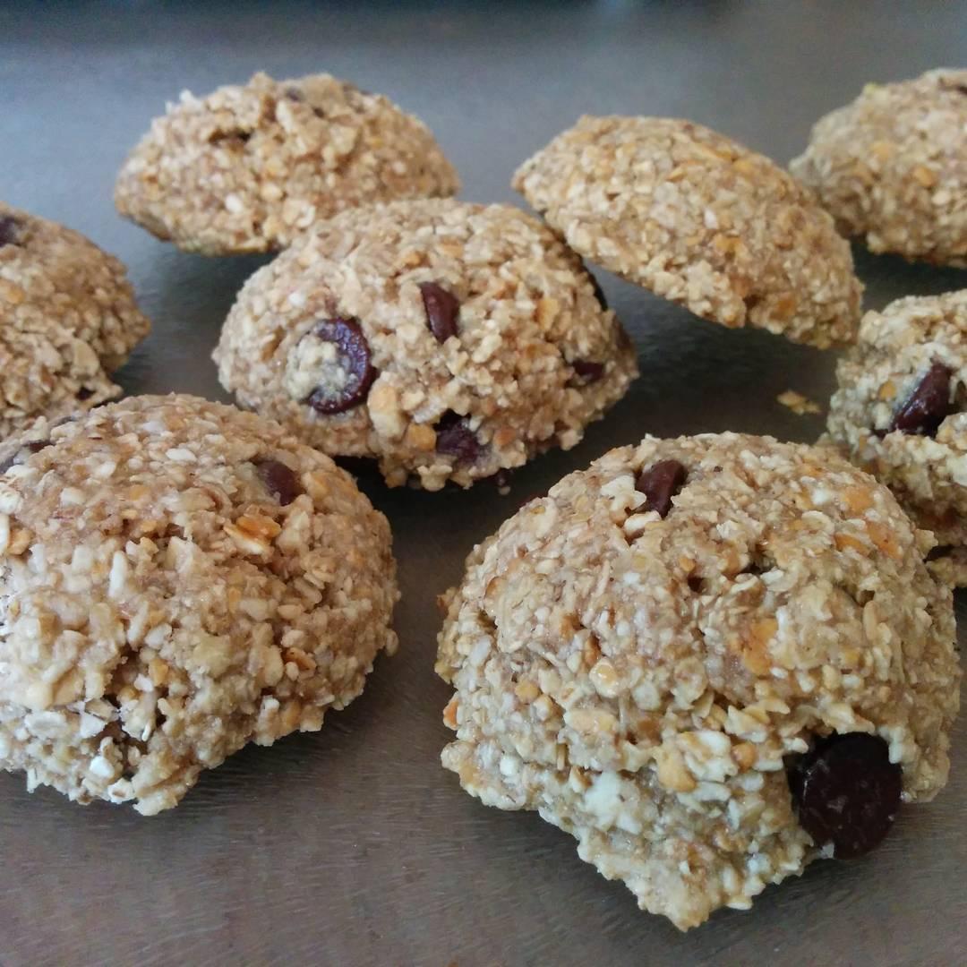 cowboy cookies by @mirandavidecak3
