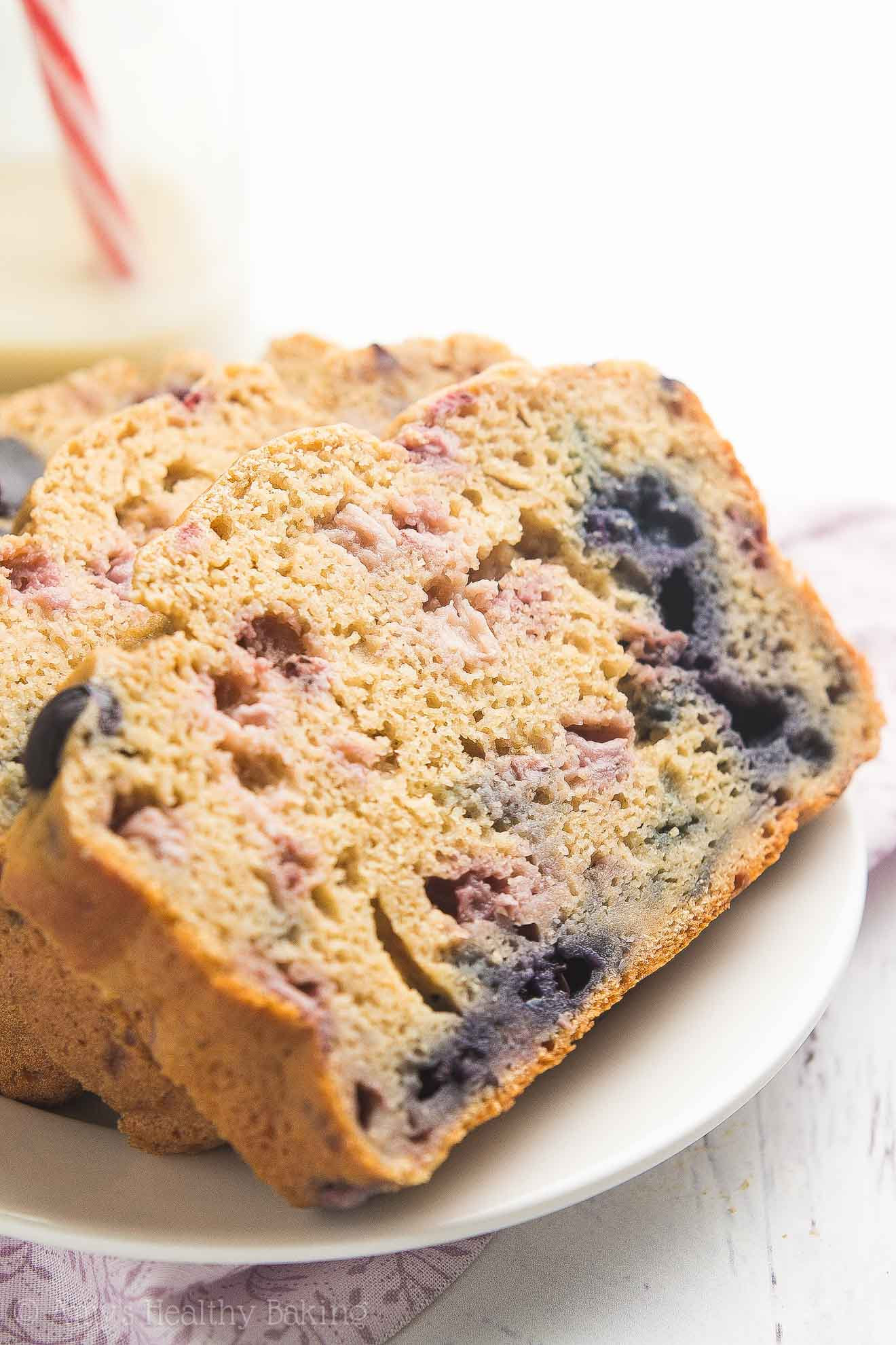 Blueberry banana pound cake recipe