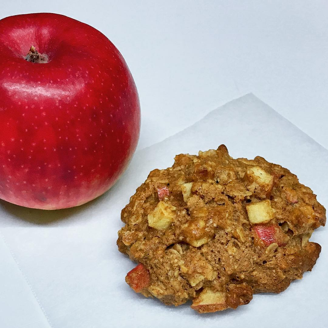 apple pie oatmeal cookies by @a_is_for_apple_au