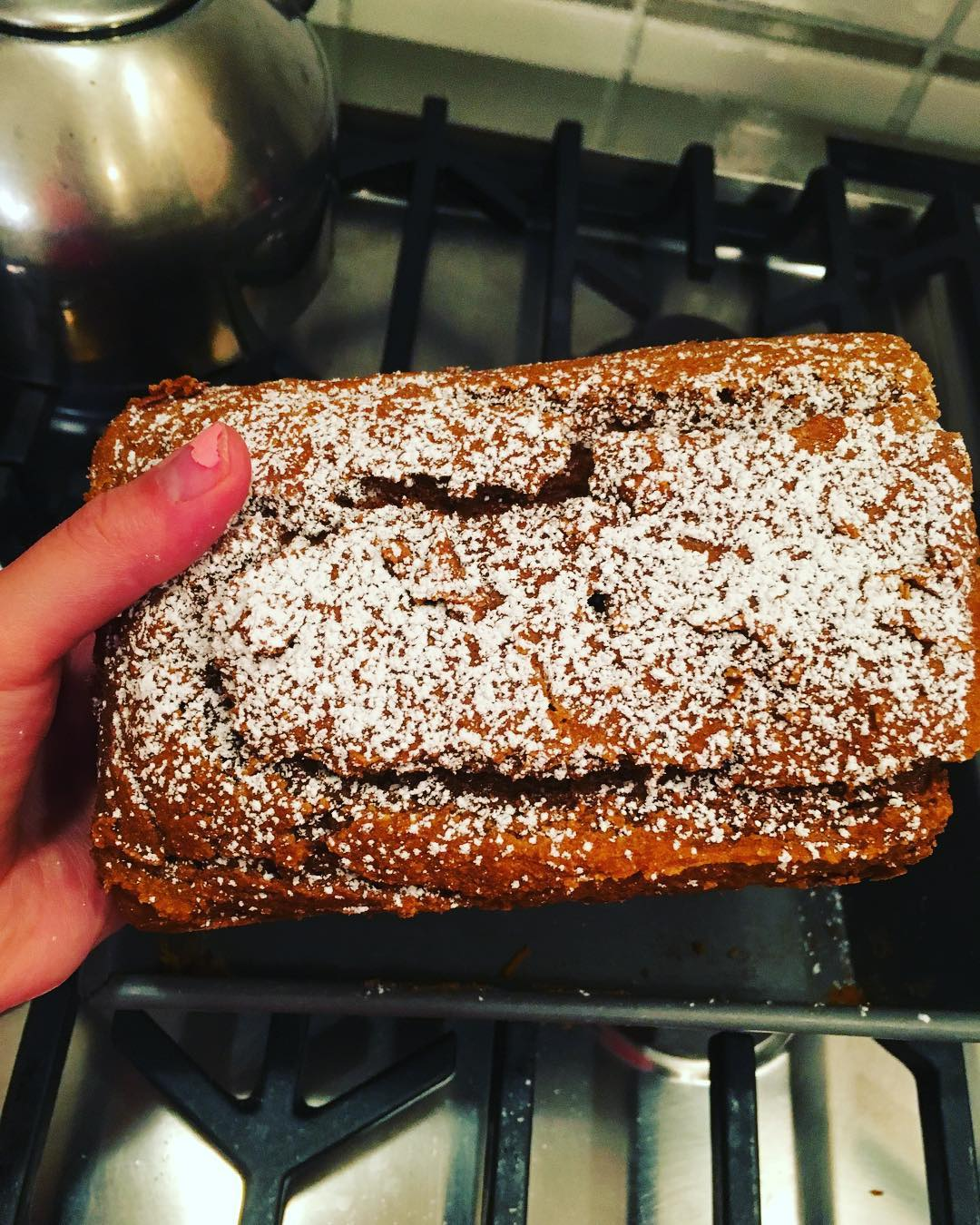 chocolate chip pumpkin bread by @oh_my_delicious
