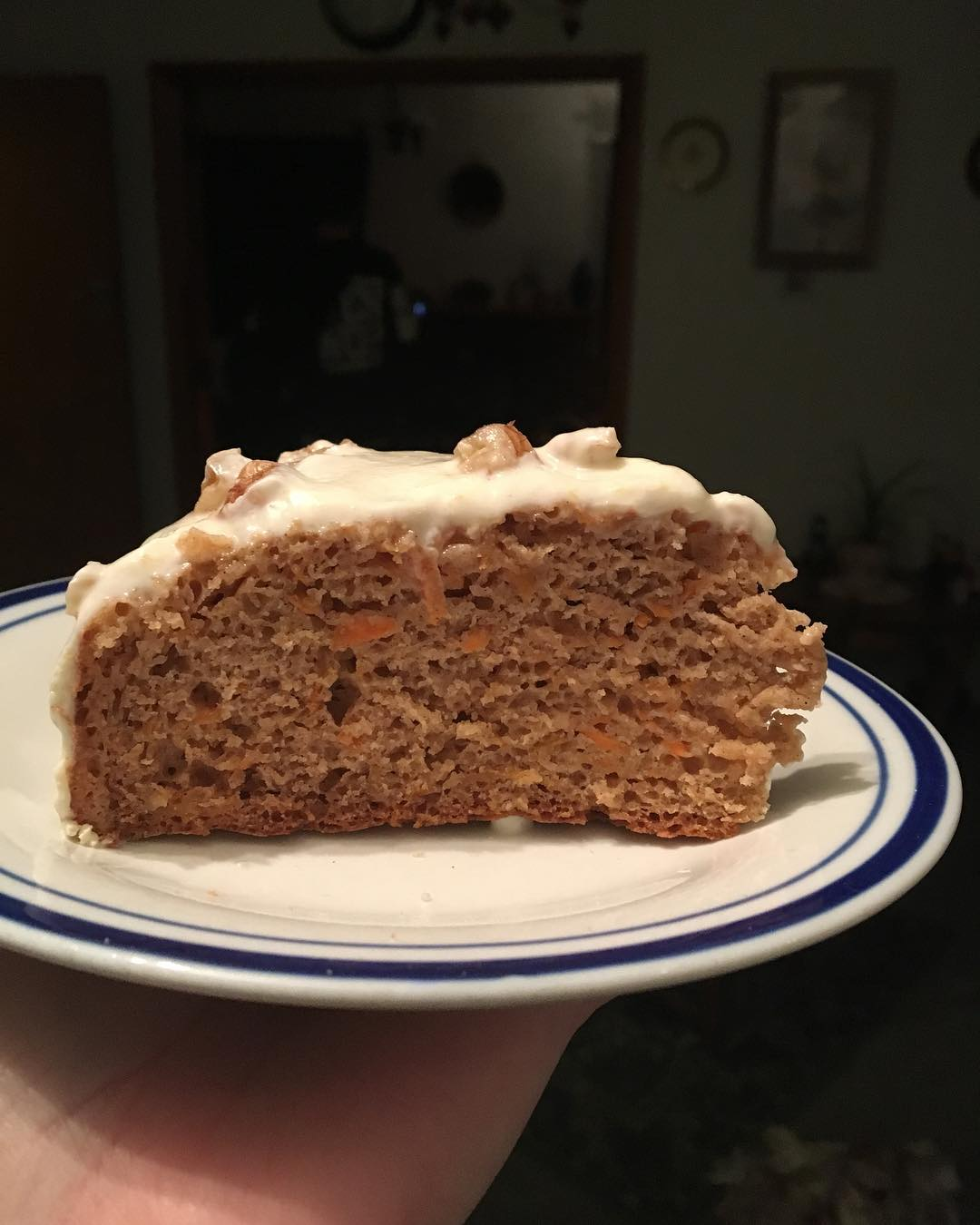 classic carrot cake by @maddie_smiith