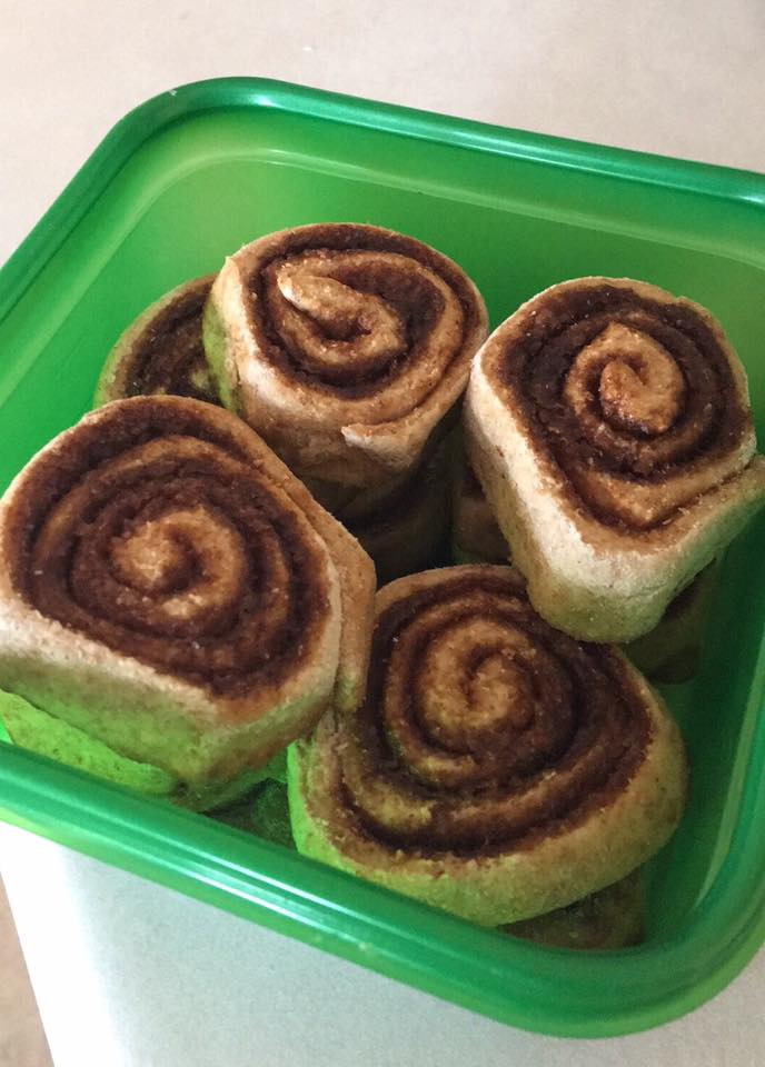 the ultimate healthy cinnamon rolls by @pennygray