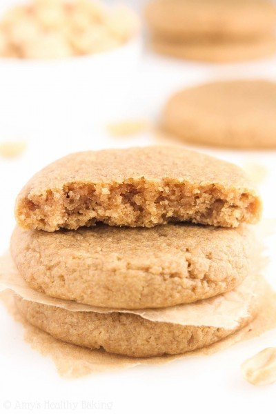 VIDEO: The Ultimate Healthy Soft & Chewy Peanut Butter Cookies