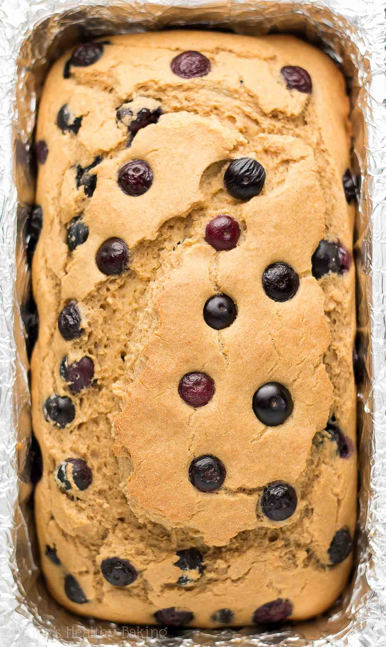 The Ultimate Healthy Blueberry Pound Cake | Amy's Healthy Baking
