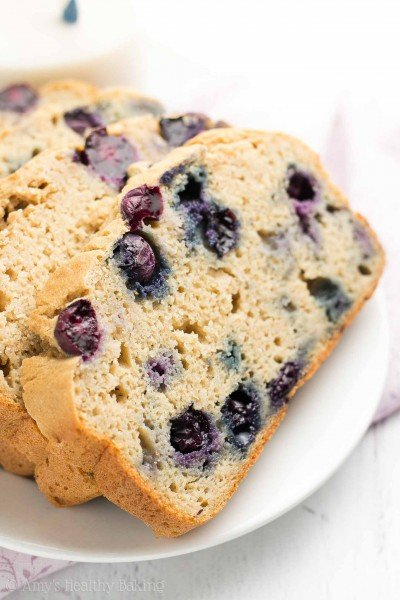 The Ultimate Healthy Blueberry Pound Cake