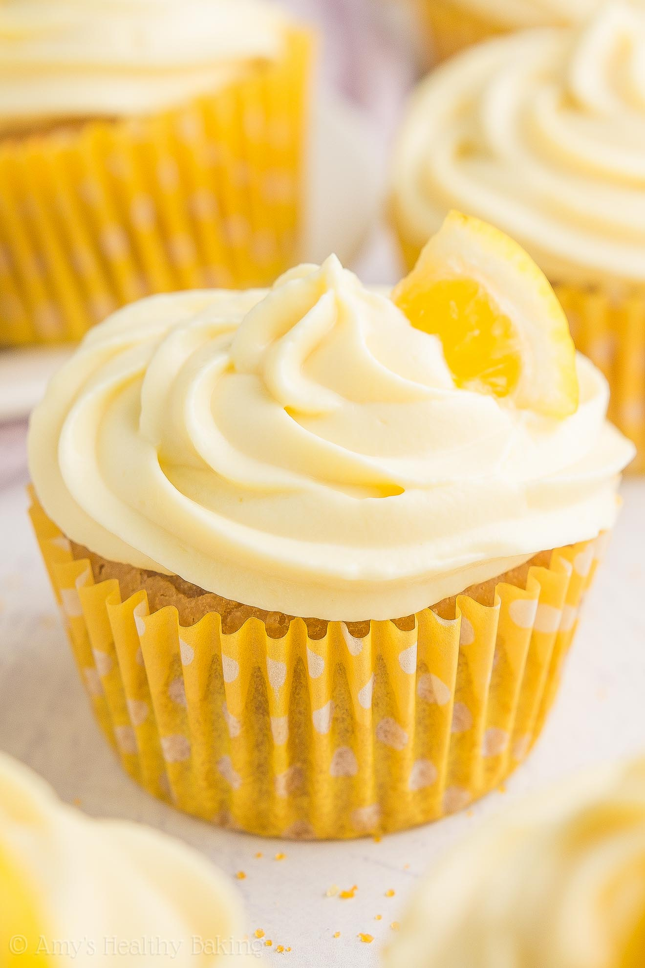 how to make lemon cupcake frosting