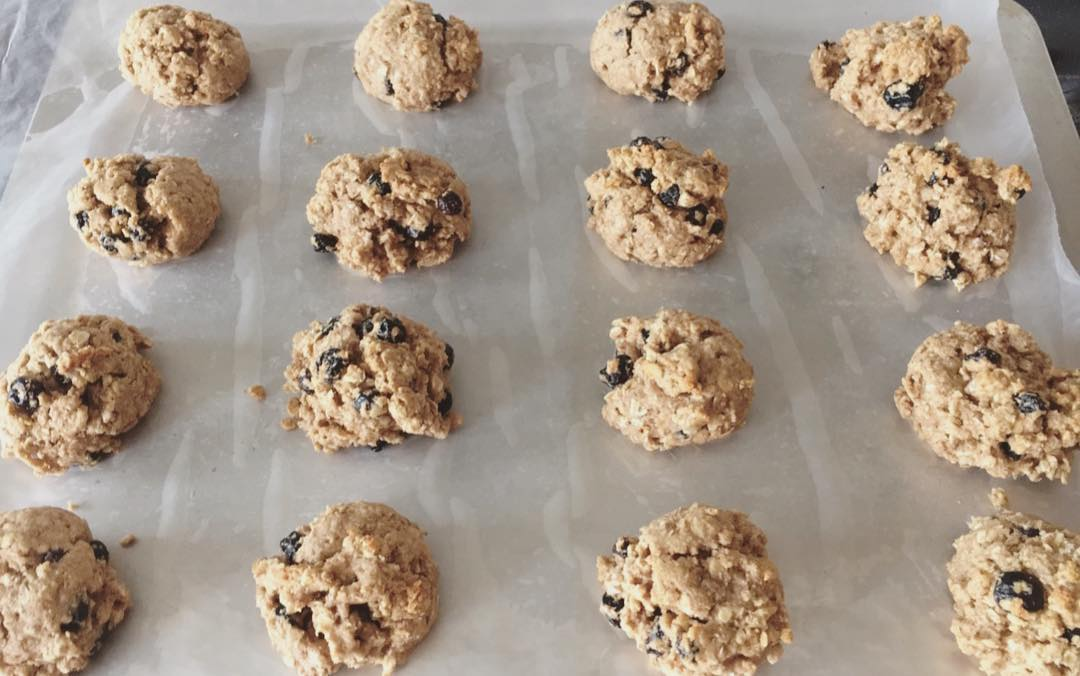 blueberry oatmeal cookies by @j_oggs