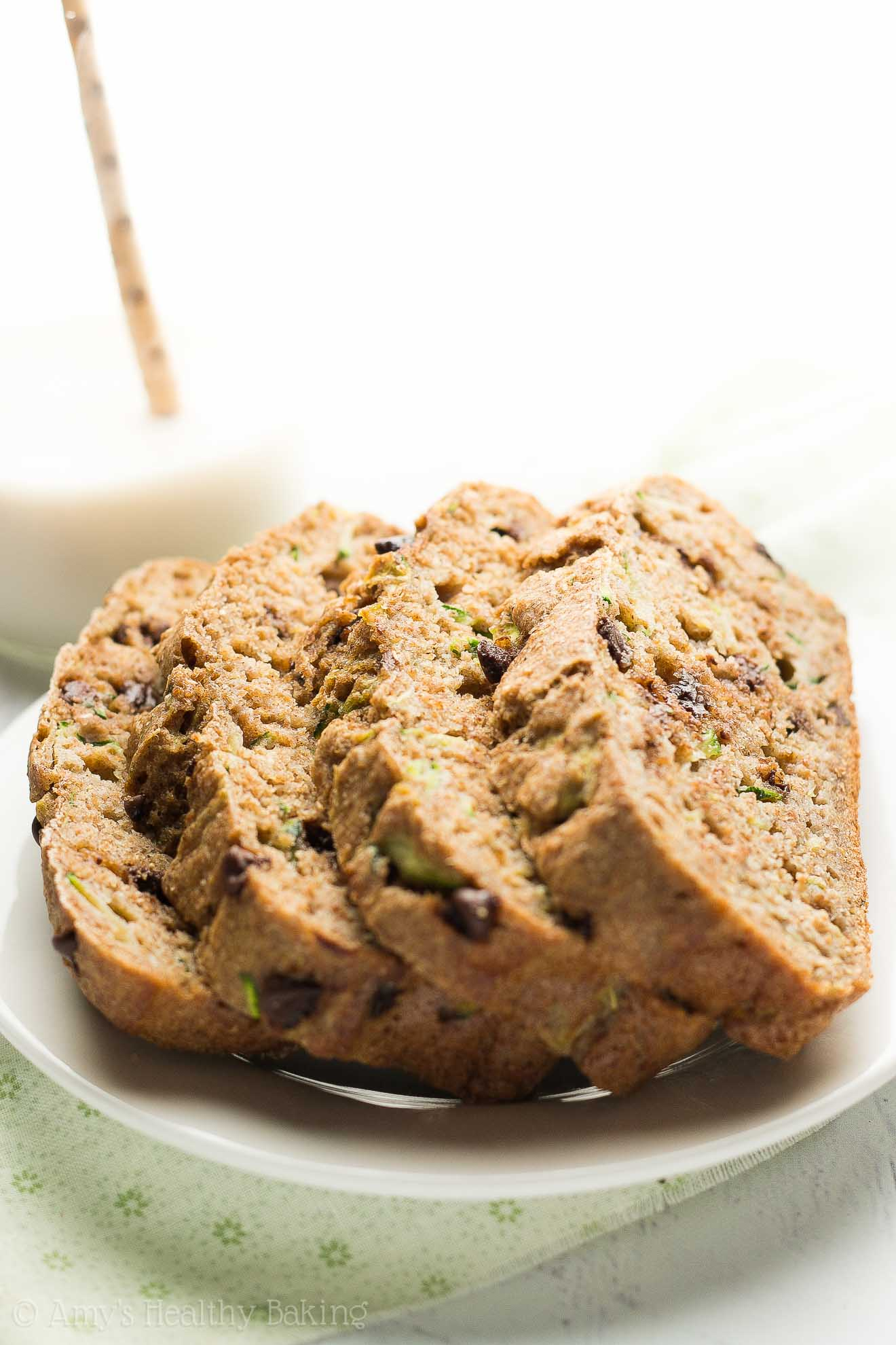 Easy Zucchini Bread With Spice Cake Mix