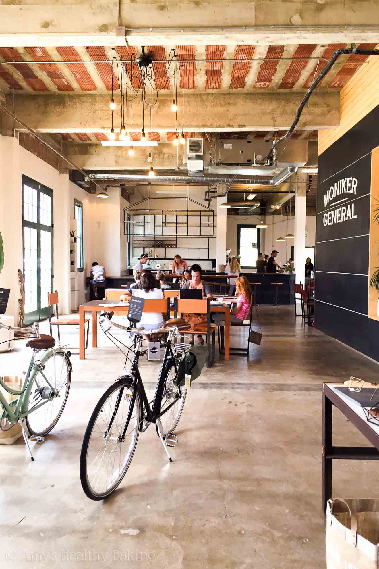 Exploring San Diego! @amybakeshealthy | Moniker Coffee Company -- a MUST TRY! @monikergeneral