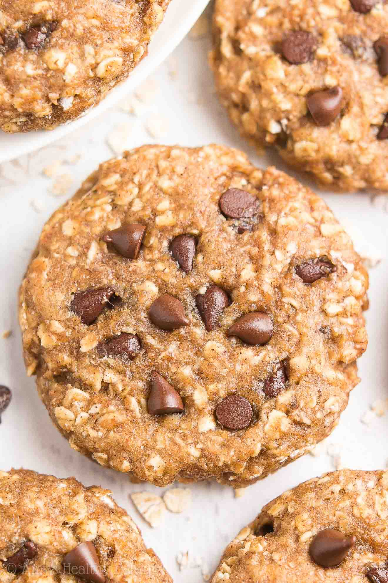 how to make healthy peanut butter oatmeal cookies