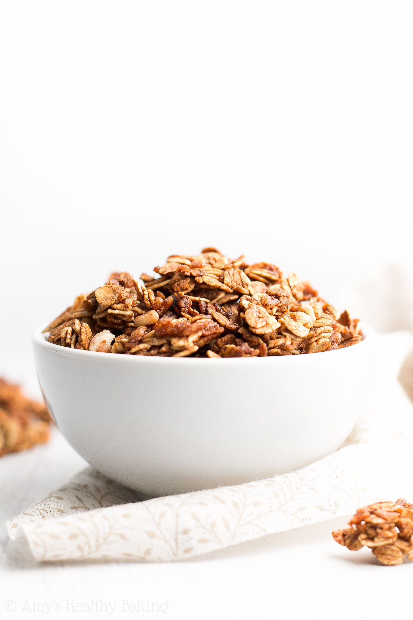 healthy pecan granola recipe