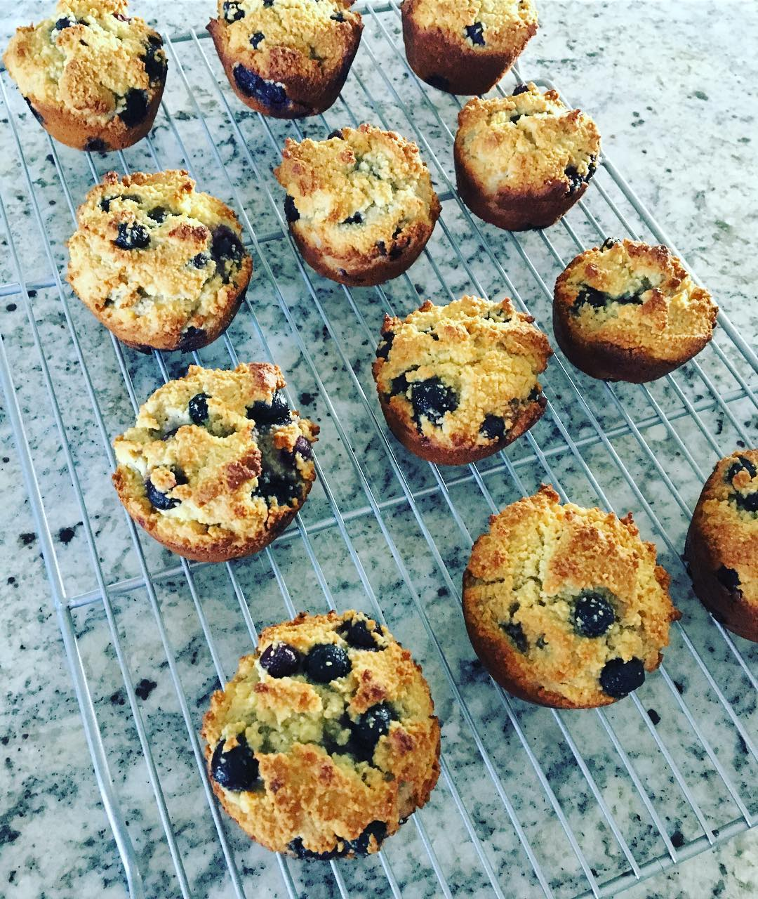 small batch lemon blueberry muffins by @mel_ruiz28