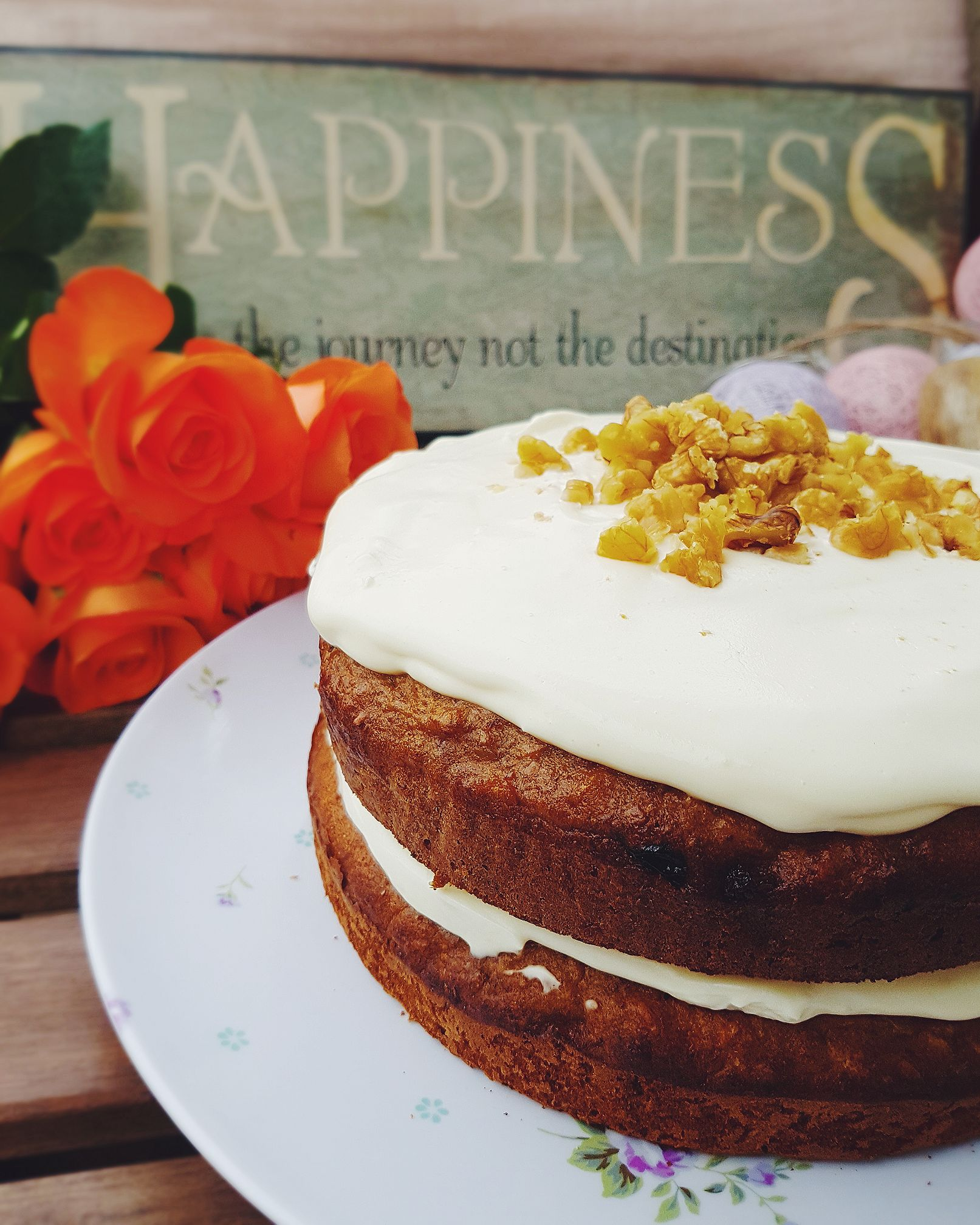 the ultimate healthy carrot cake by @staniivanova