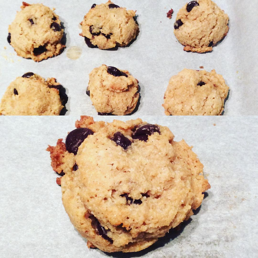 the ultimate healthy soft & chewy gluten-free chocolate chip cookies by @vanessappurcell