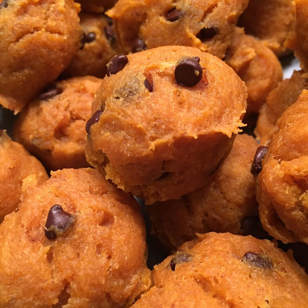 the ultimate healthy soft & chewy pumpkin chocolate chip cookies by @fit_fiesty_foodlovingmama
