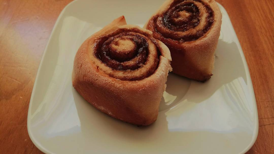 the ultimate healthy cinnamon rolls by @msizebite