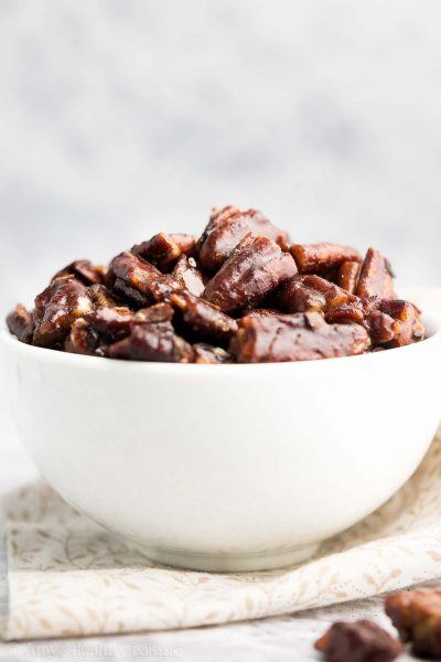 The Ultimate Healthy Candied Pecans