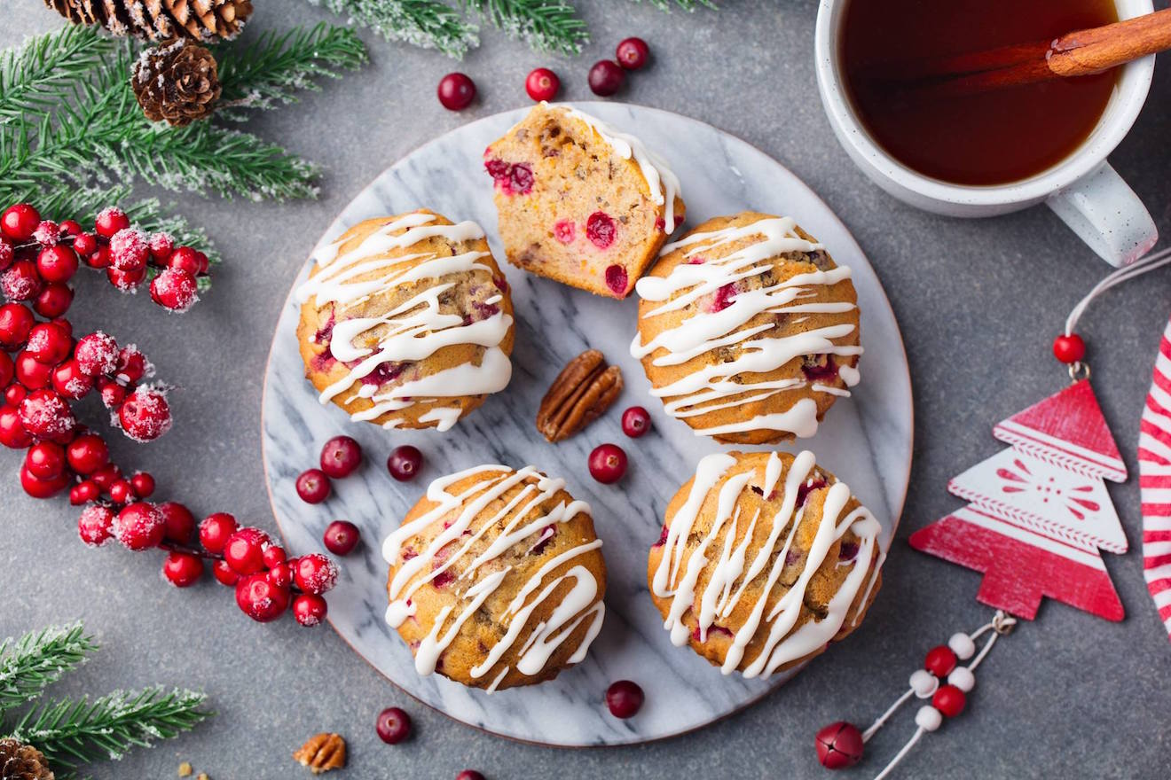 the ultimate healthy cranberry orange muffins by @the_forager_food_co