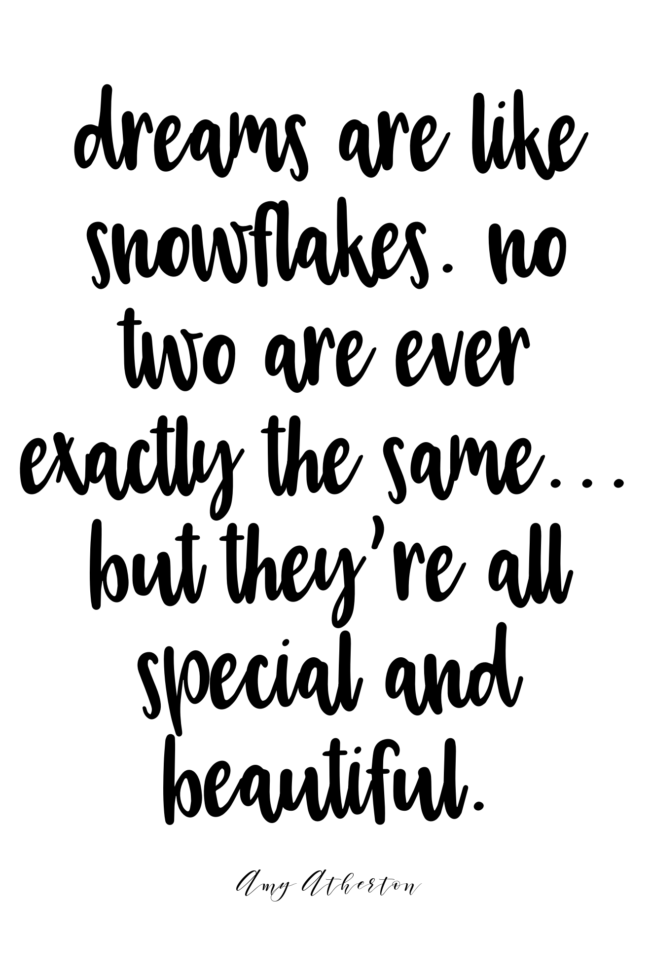 your dream is special and beautiful. @amybakeshealthy