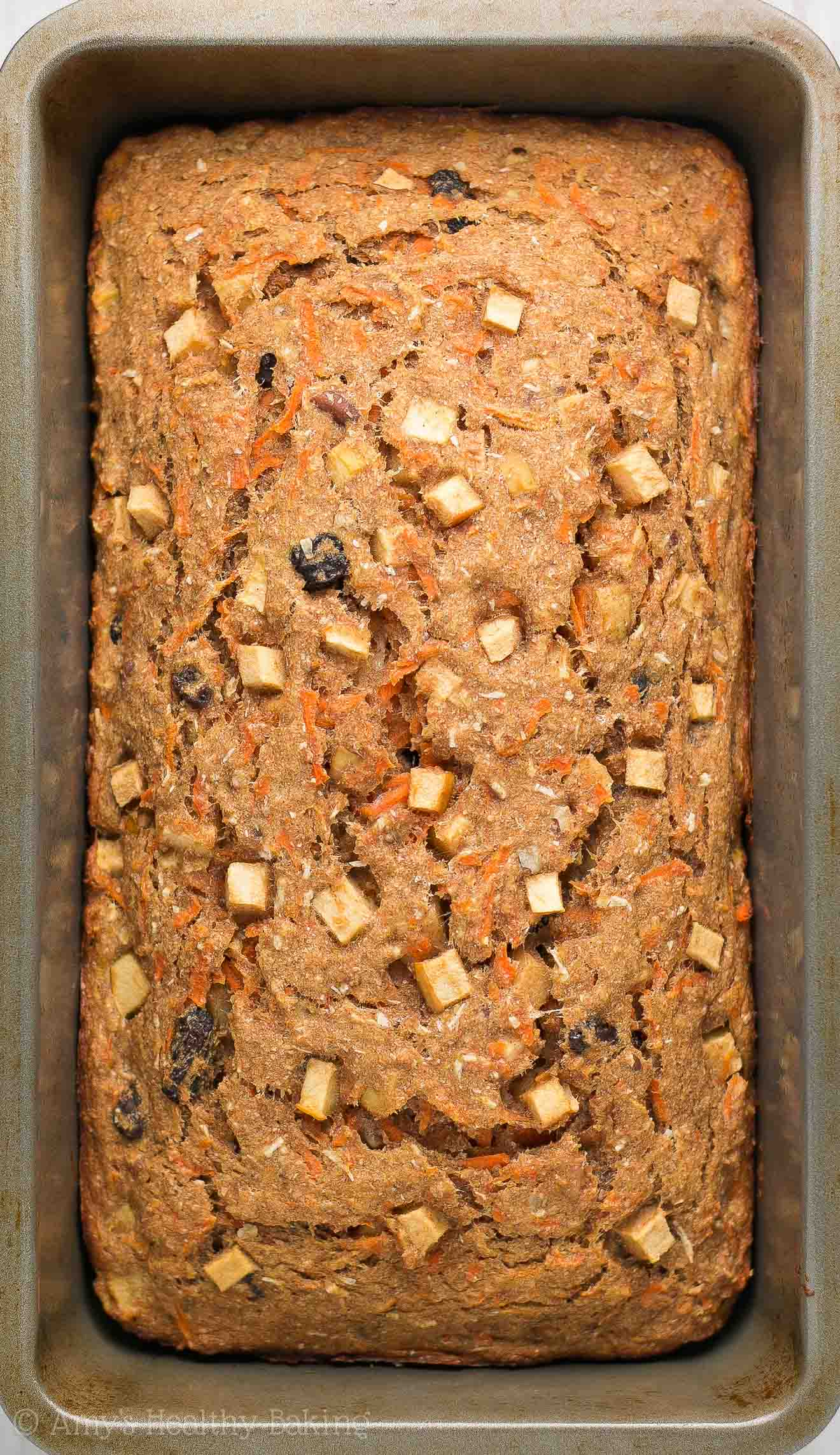 Healthy morning glory banana bread amys healthy baking morning glory banana bread only 135 calories naturally sweetened forumfinder Gallery