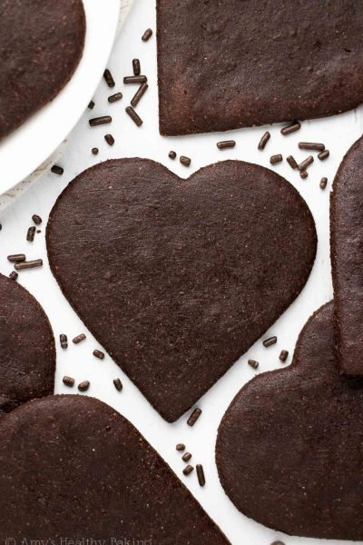 The Ultimate Healthy Chocolate Sugar Cookies