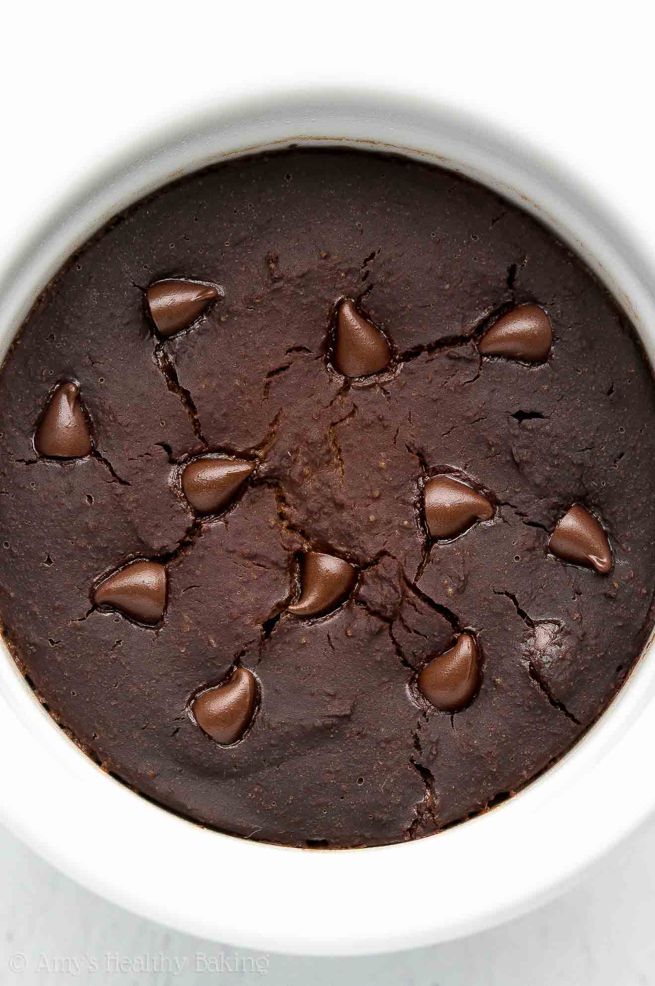 Best Healthy Flourless Chocolate Mug Cake